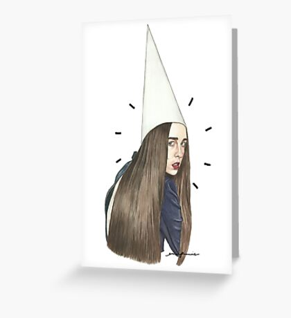 Allie the Dunce Greeting Card