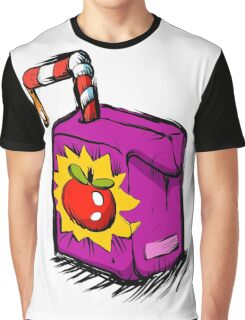 Smiling apple juice box . Graphic T-Shirt