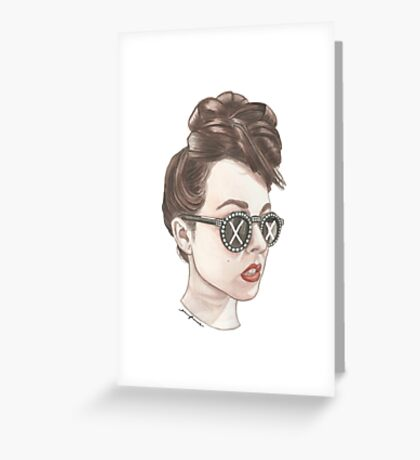 Lifted Girl Greeting Card