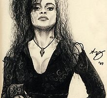 Bellatrix Lestrange by Lyvyan