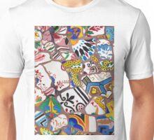 Gaudi tiles Unisex T-Shirt