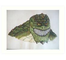 Killer Croc Art Print