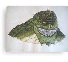 Killer Croc Canvas Print