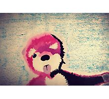 ABQ Pink Bear Photographic Print