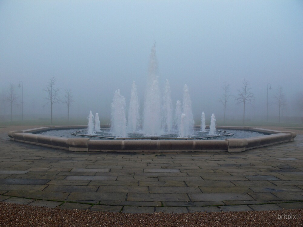 The Fog and The Fountain by britpix