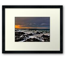 I Will Dream ~ Oregon Coast ~ Framed Print