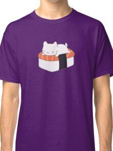 Kawaii Sushi Cat  Classic T-Shirt