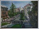 Boulevard Richard Wallace - Paris.  by Ozcloggie