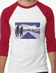 Millennium bridge London  Men's Baseball ¾ T-Shirt