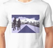 Millennium bridge London  Unisex T-Shirt