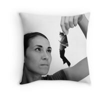 No fury like a womans scorn Throw Pillow