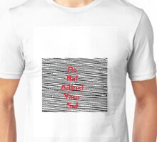 Do not adjust your set Unisex T-Shirt
