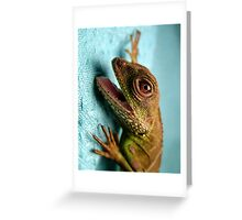 Crazy Dragon Greeting Card