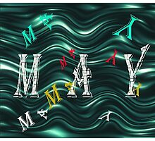 Birth Month - May Special Effects Photographic Print
