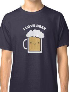 Cute I Love Beer  Classic T-Shirt
