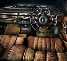 1968 Mercedes Interior by DPid