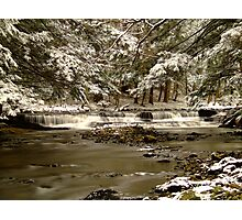 Snow Falls 1st Prize Winner Photographic Print