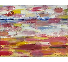 Abstract Beach Photographic Print