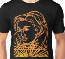 TSHIRT Oriental Girl With Fan Unisex T-Shirt