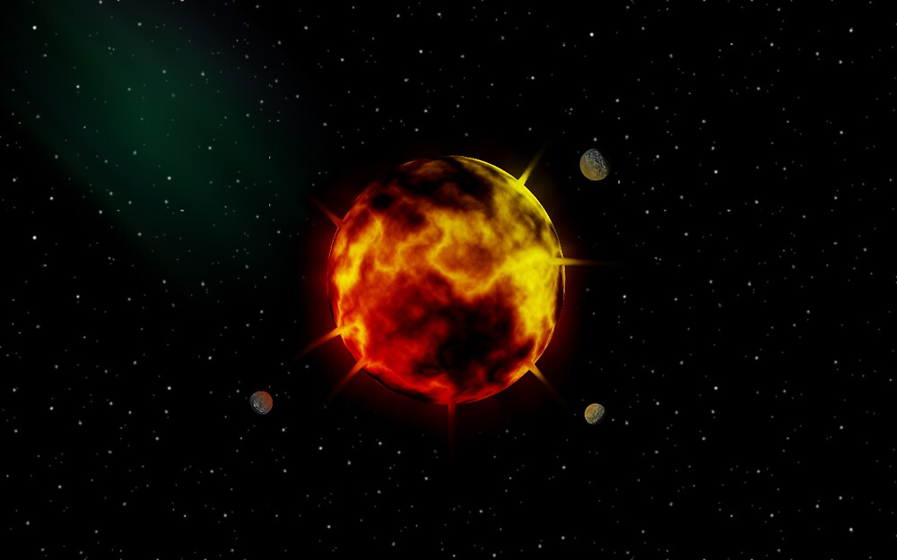 Molten Planet by XGamer15