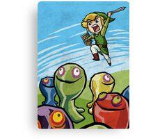 Link versus the ChuChus Canvas Print