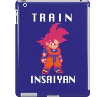 Train Insaiyan Super Saiyan God Goku (White) iPad Case/Skin