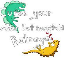 Curse Your Sudden But Inevitable Betrayal (for Dark) by Amarysauce