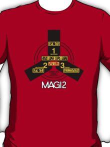 MAGI system - Melchior-1, Balthasar-2, and Casper-3. T-Shirt
