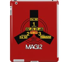 MAGI system - Melchior-1, Balthasar-2, and Casper-3. iPad Case/Skin