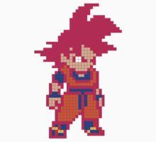 Super Saiyan God Goku Kids Clothes