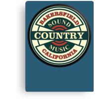 Bakersfield  Sound  CMC Canvas Print
