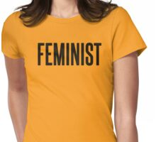 Feminist vr. 2 Womens Fitted T-Shirt