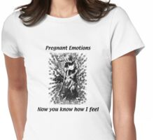 Now you know how I feel Womens Fitted T-Shirt
