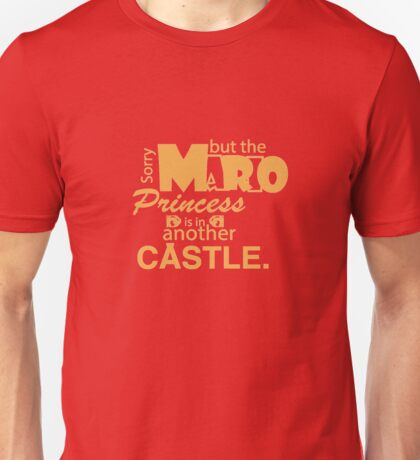 Mario Merchindise V.1 Unisex T-Shirt