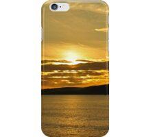 November Sunset Polzeath Cornwall  iPhone Case/Skin