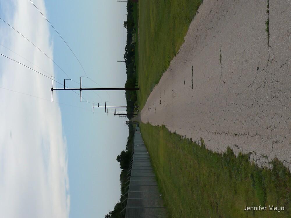 long road by Jennifer Mayo
