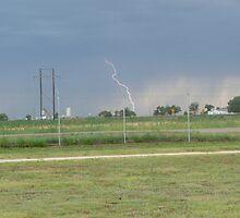 Lightning Bolt  Off Base by Jennifer Mayo