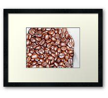 Fresh Beans Framed Print