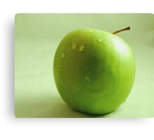 Apple Of His Eye Canvas Print