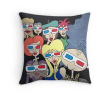 Wildago's 3D Pearl and Friends Throw Pillow