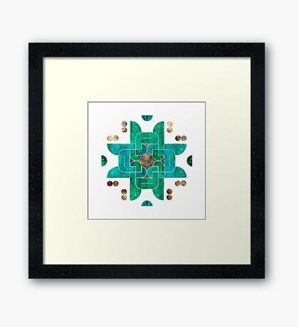 Qossa (Story) Framed Print