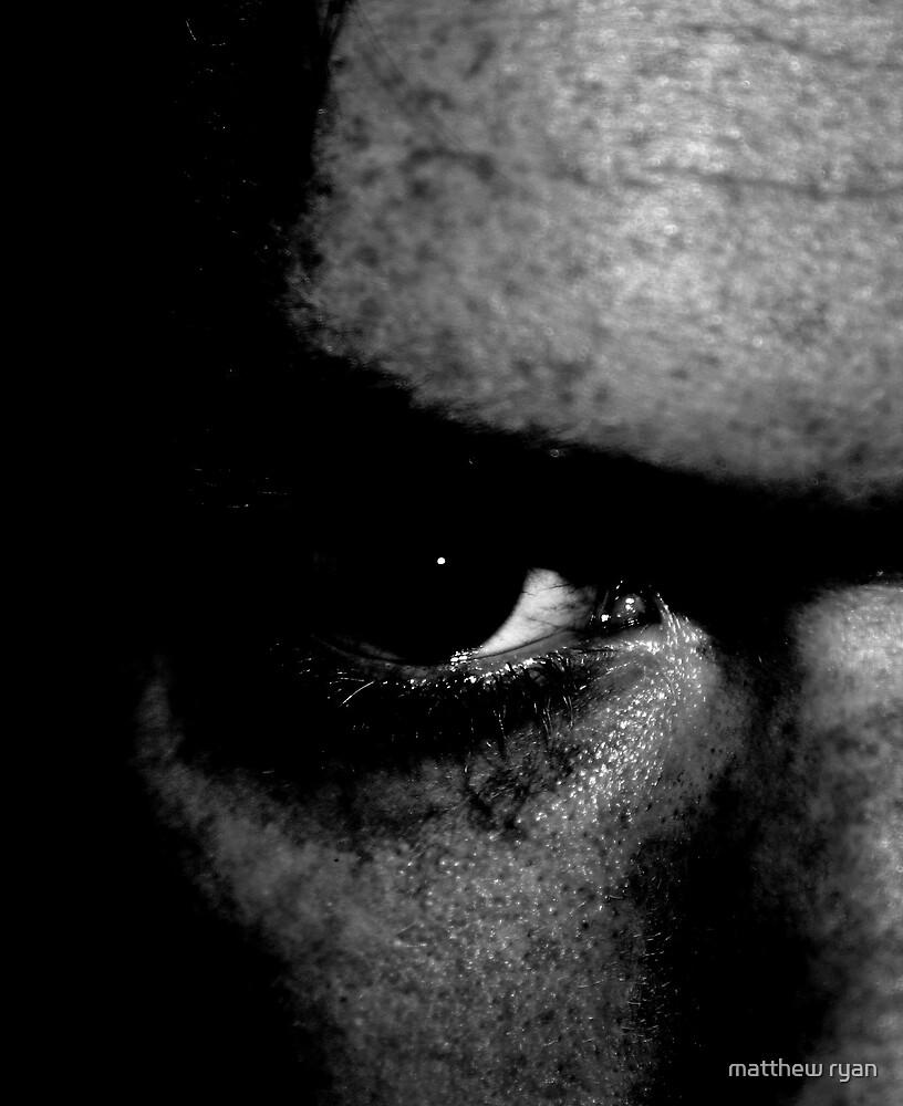 self portrait eye by matthew ryan
