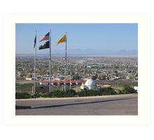 City of Alamogordo Art Print