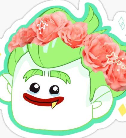 flower crown boy Sticker