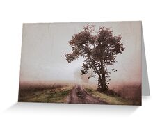 back road memories Greeting Card