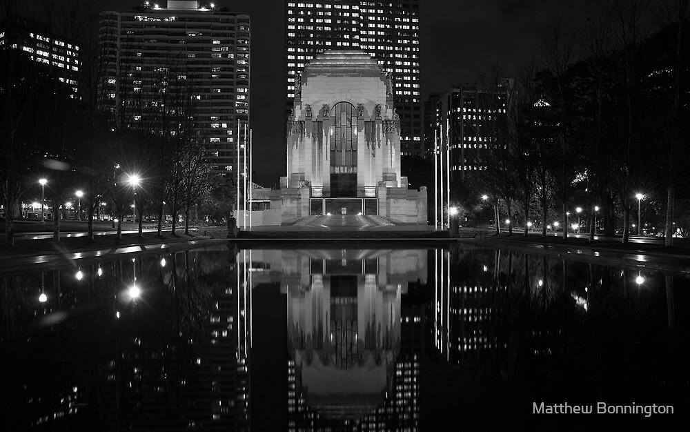 Anzac Memorial by Matthew Bonnington