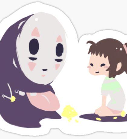 Studio ghibli - chibi chihiro/noface Sticker