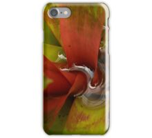 the red pigment iPhone Case/Skin