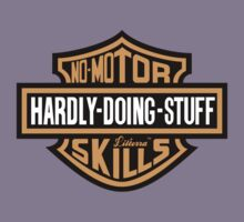 Hardly Doing Stuff No-Motor Skills by lilterra.com Kids Tee