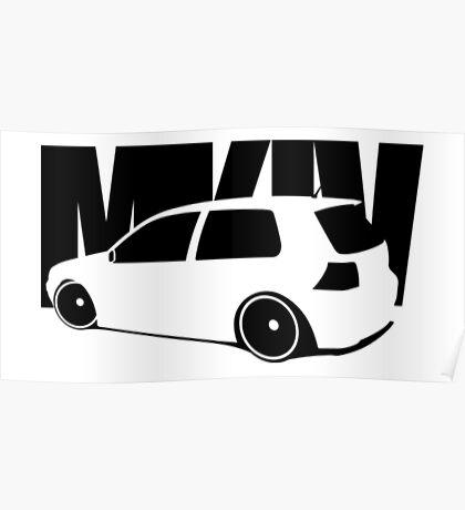 Golf Mk 4 Poster